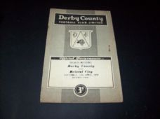 Derby County v Bristol City, 1958/59